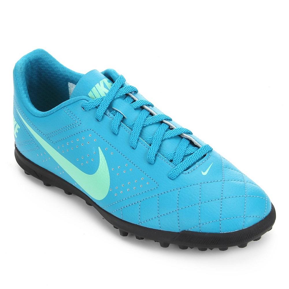 Chuteira Society Nike Beco 2 TF  Azul
