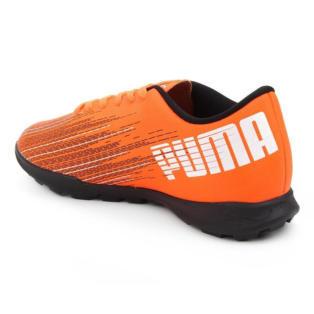 Chuteira Society Puma Ultra 4.1 Masculino Laranja