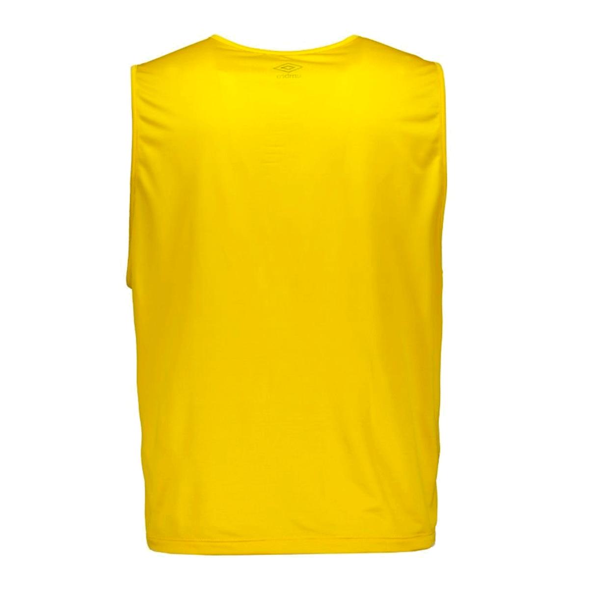 Colete Umbro TWR Start Diamond Masculino Amarelo