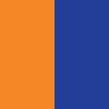 Laranja/Azul