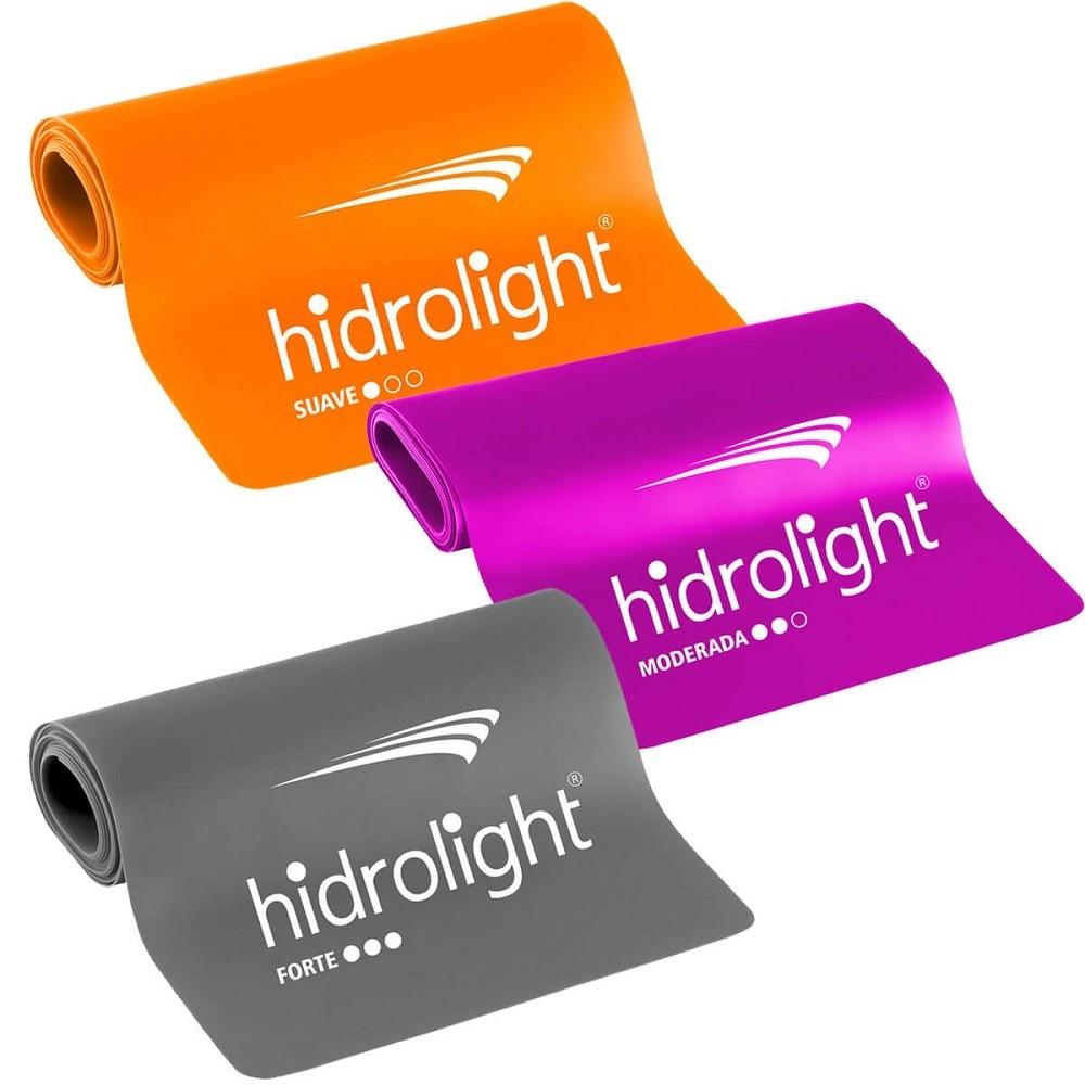Faixa Elástica Hidrolight Kit 3 Peças