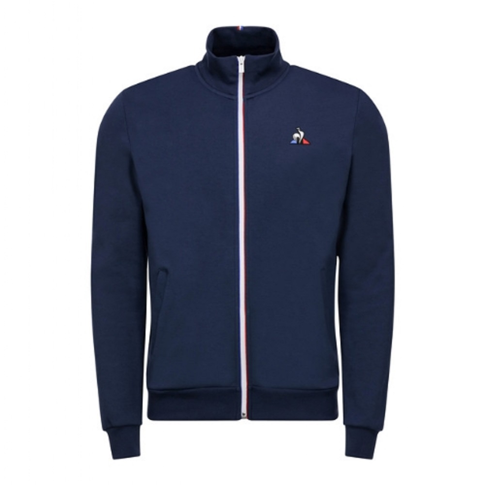 Jaqueta Le Coq Sportif Ess Fz Sweat N.2 M Dress Blues Masculino Marinho