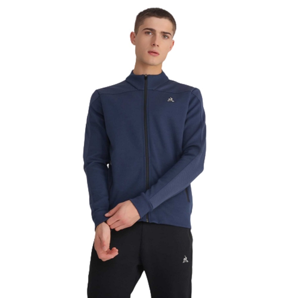 Jaqueta Le Coq Sportif Tech Fz Sweat N.1 M Dress Blues Masculino Marinho