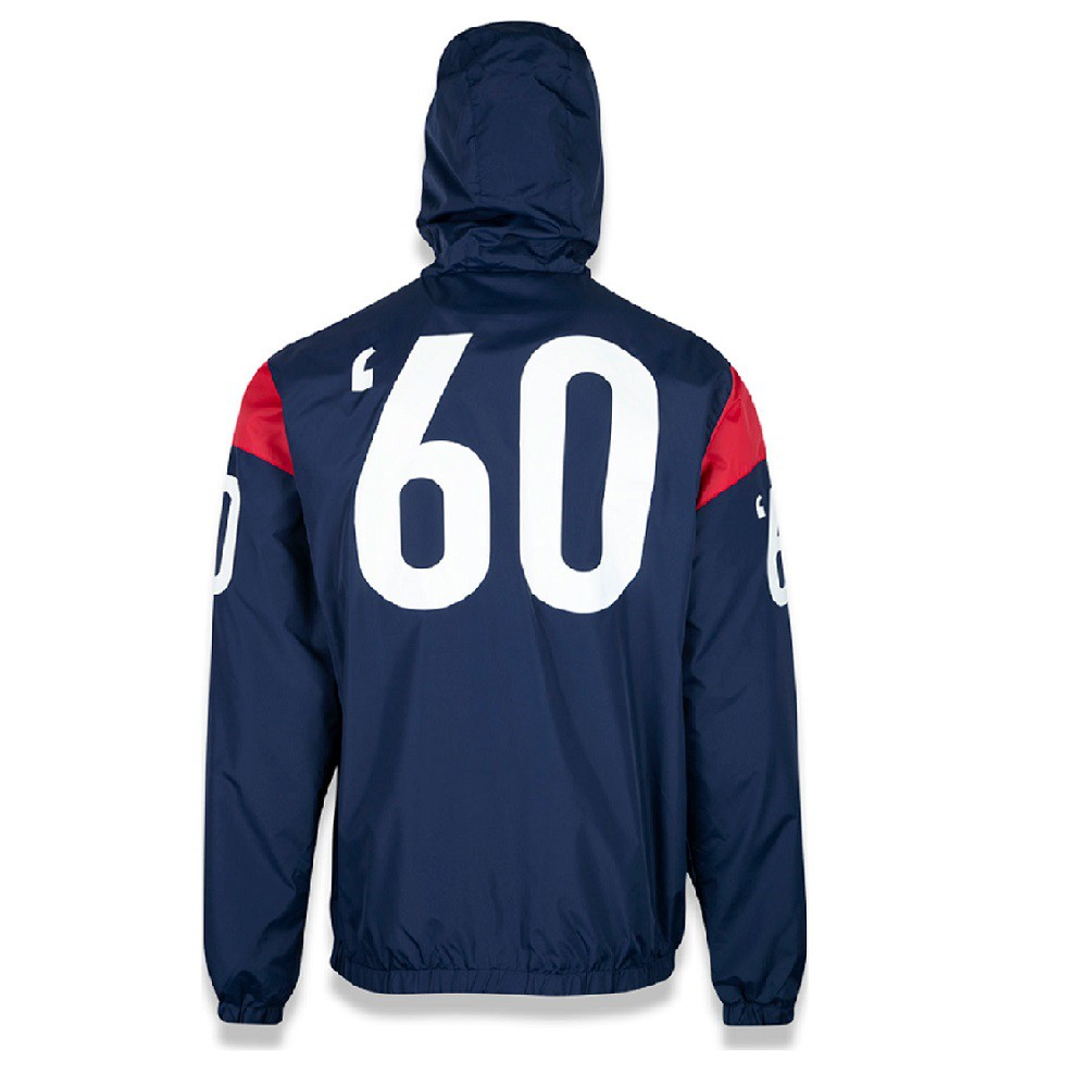 Jaqueta New England Patriots Reborn Heritage Masculina Marinho Vermelho New Era
