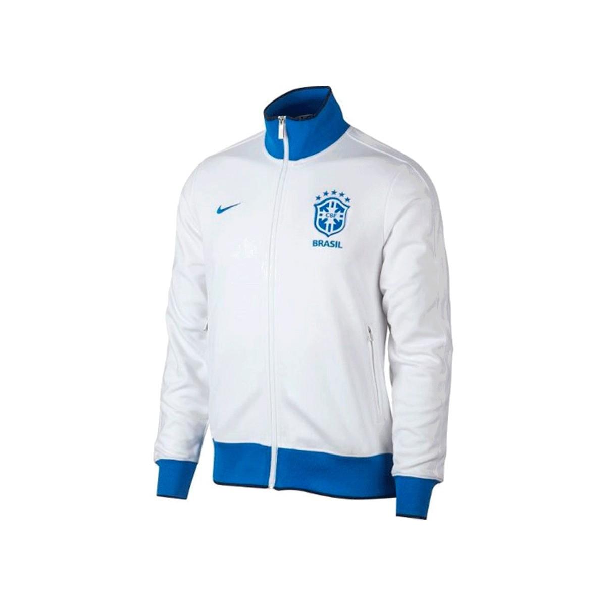 Jaqueta Nike CBF Masculino Branco