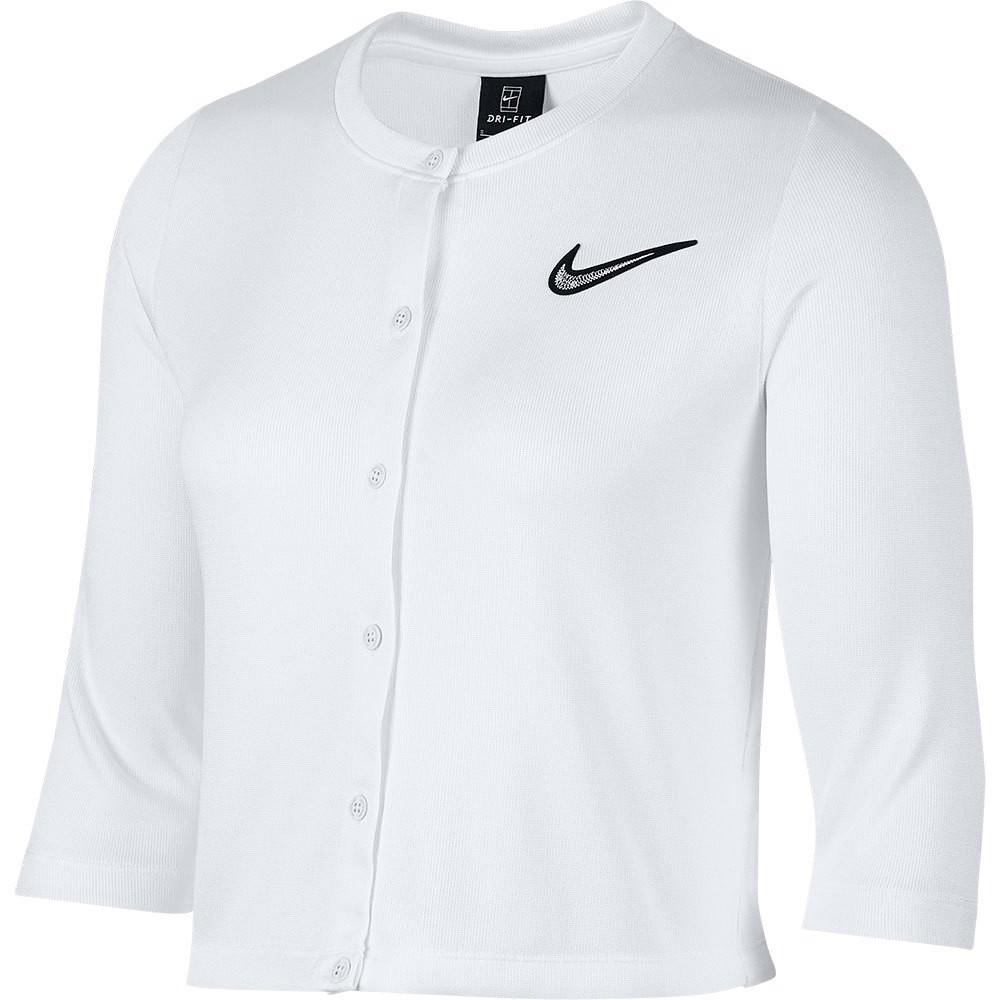Jaqueta Nike Court Cardigan Feminina Branca