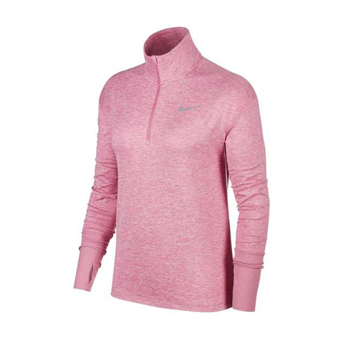 Jaqueta Nike Element Top HZ Feminina Rosa