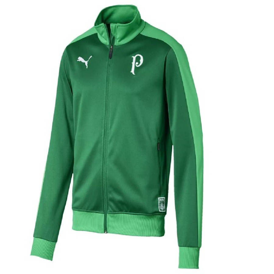 Jaqueta Palmeiras Puma Track Masculina Verde