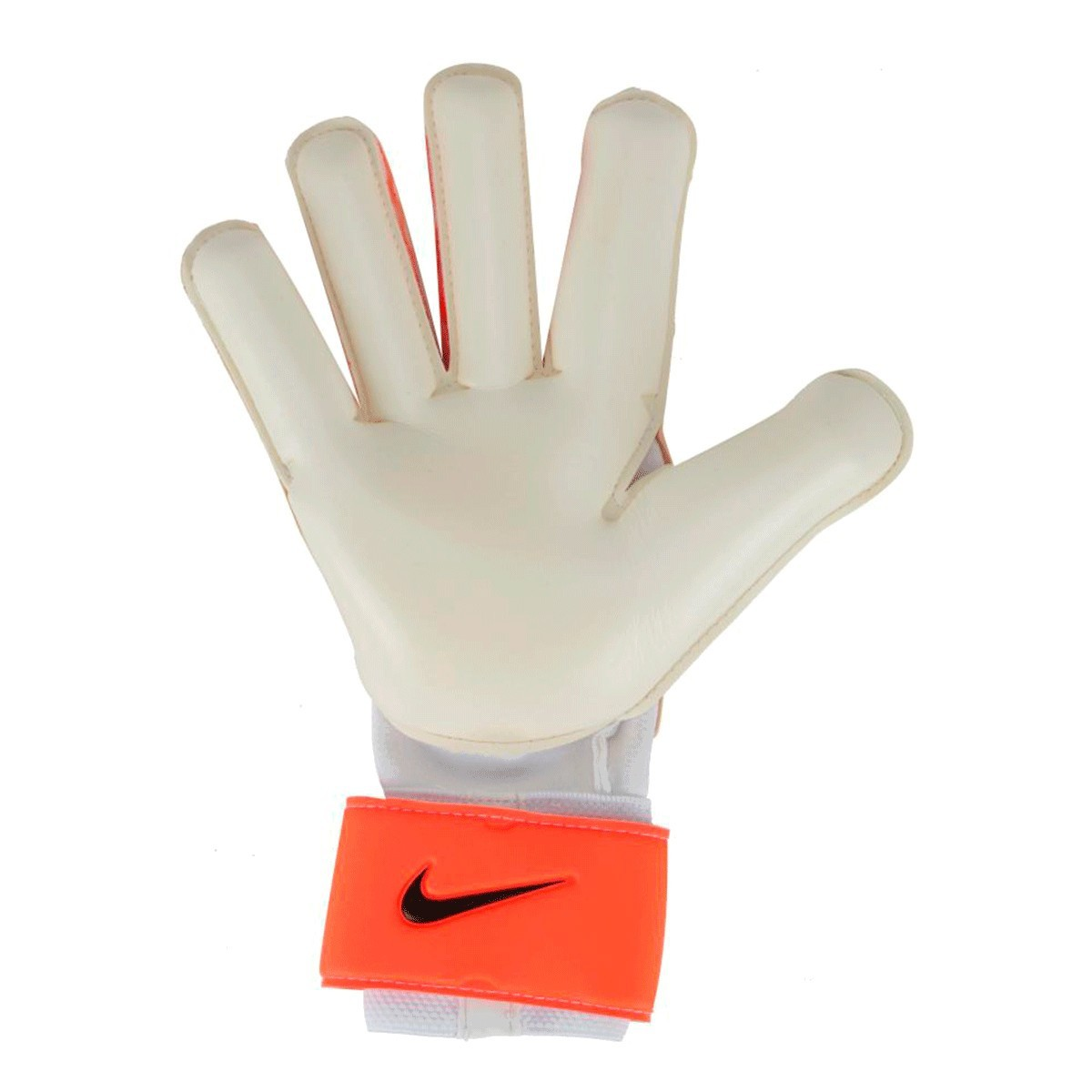 Luvas de Goleiro Nike Grip3 Adulto Branco Laranja