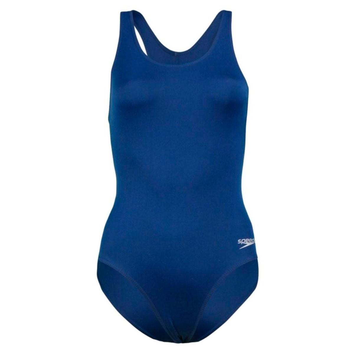 Maiô Speedo Hydrofast Plus Feminino Azul Marinho