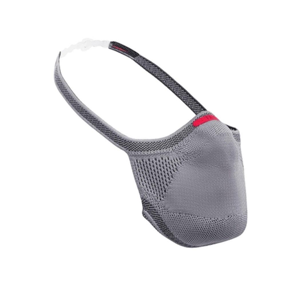 Máscara de Proteção Esportiva Fiber Knit Reutilizável E96 Cinza