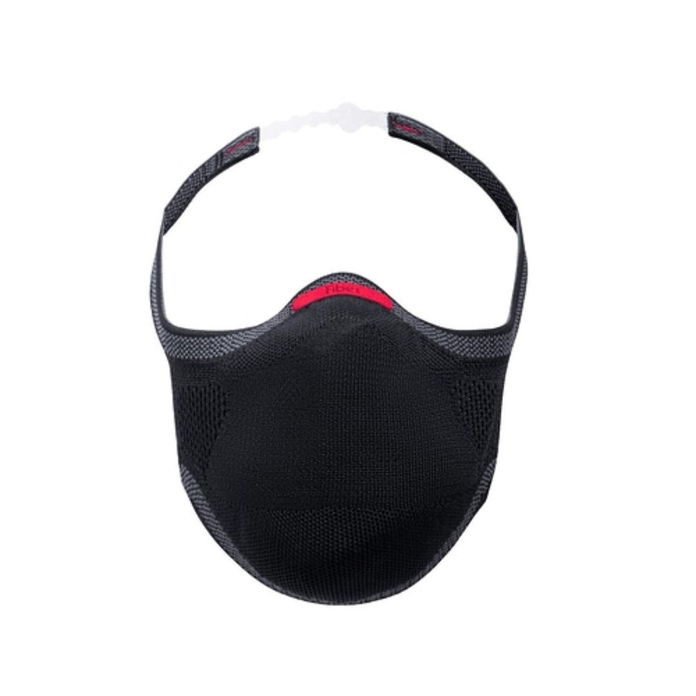 Máscara de Proteção Reutilizável Fiber Knit Infantil Preto