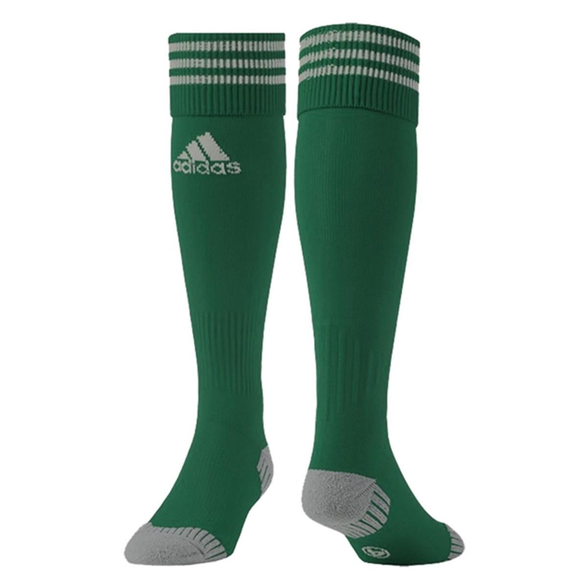 Meião Adidas Aditop 3 Listras - Verde - Masculino