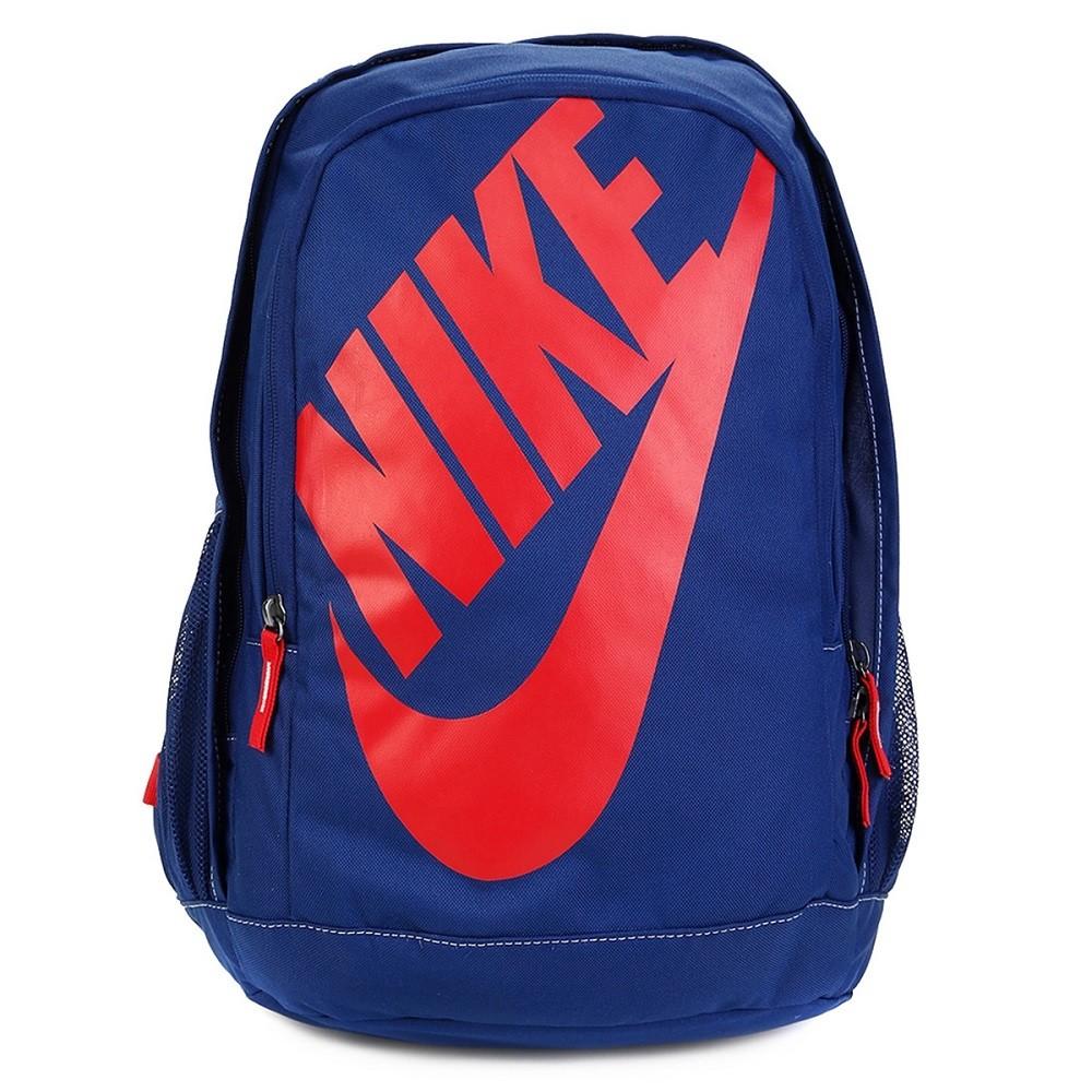Mochila Nike Hayward Futura 2.0 - Azul e Vermelho