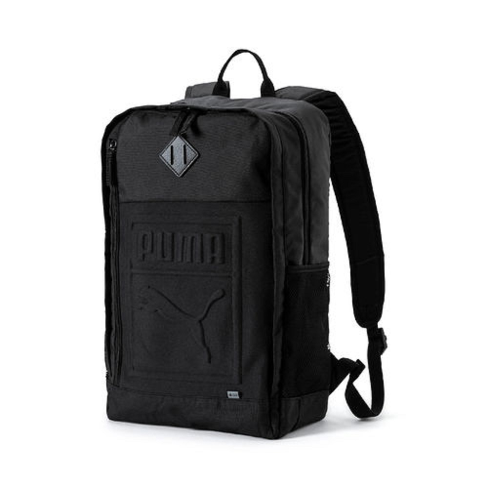 Mochila Puma S Backpack Unissex Preto