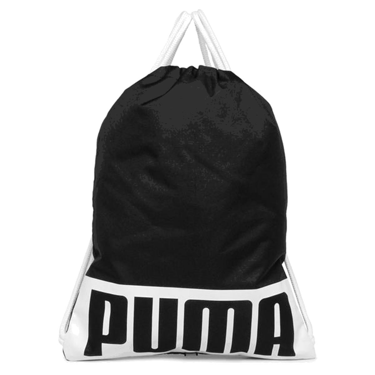 Mochila Sacola Puma Gymsack Deck - Preto
