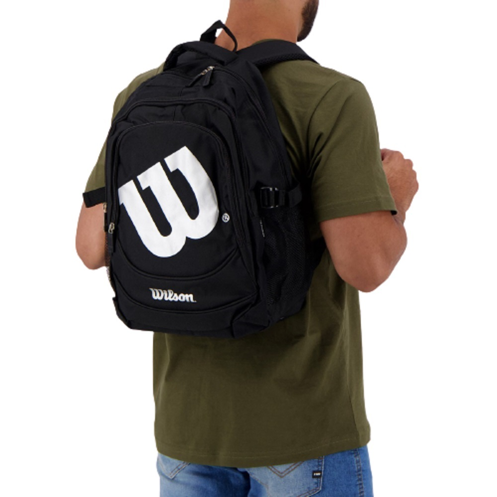 Mochila Wilson Authentic Bag Preto Cinza