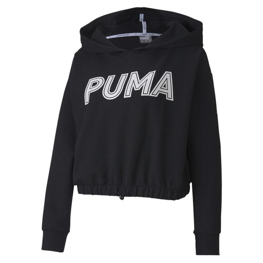 Moletom Com Capuz Puma Modern Sports Feminino Preto