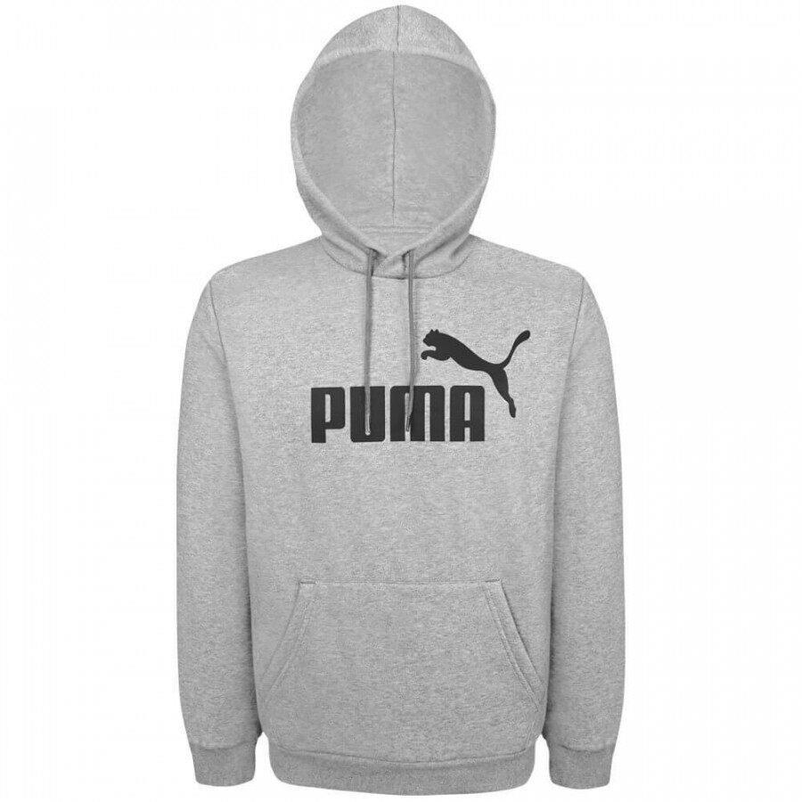 Moletom Fechado Puma Essentials Hoody Cinza