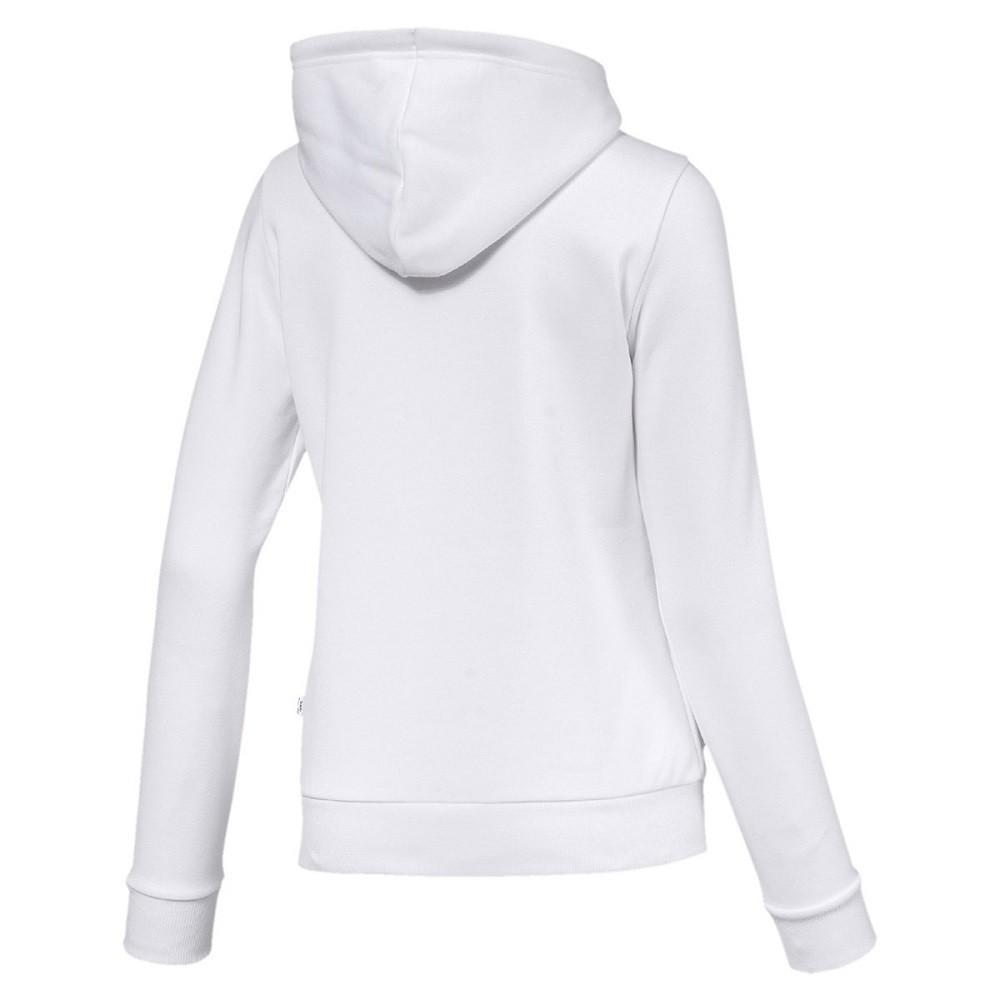 Moletom Puma Essentials Logo Hoody Feminino Branco