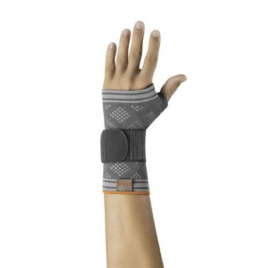 Munhequeira Hidrolight Recovery Mão Esquerda Cinza