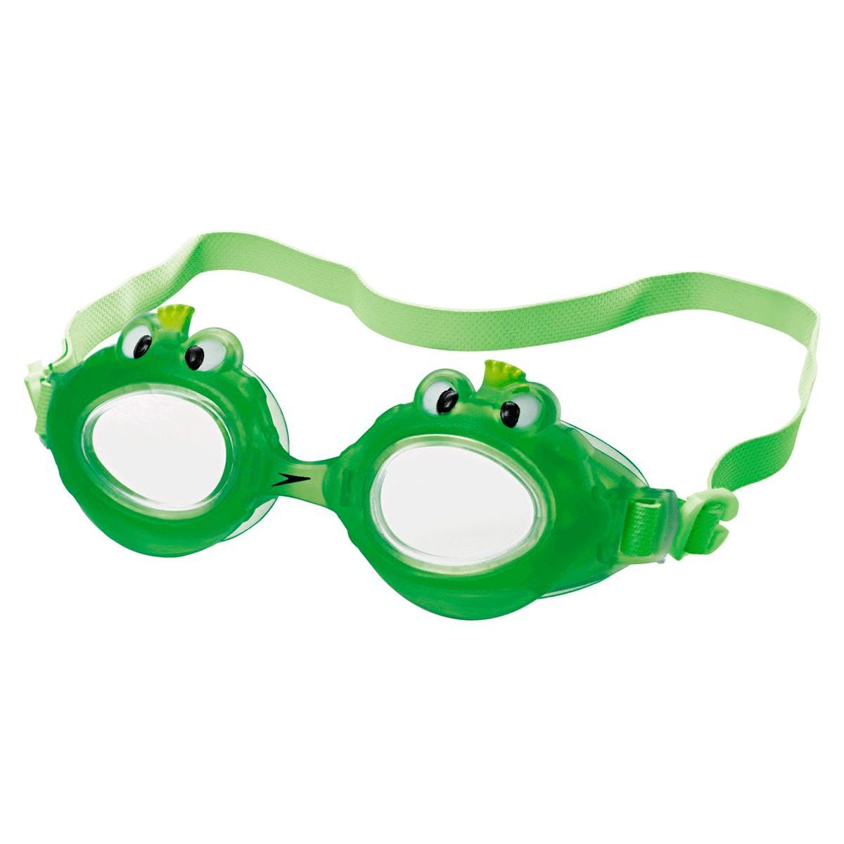 Óculos Mergulho Speedo Fun Club Sapo Infantil Verde