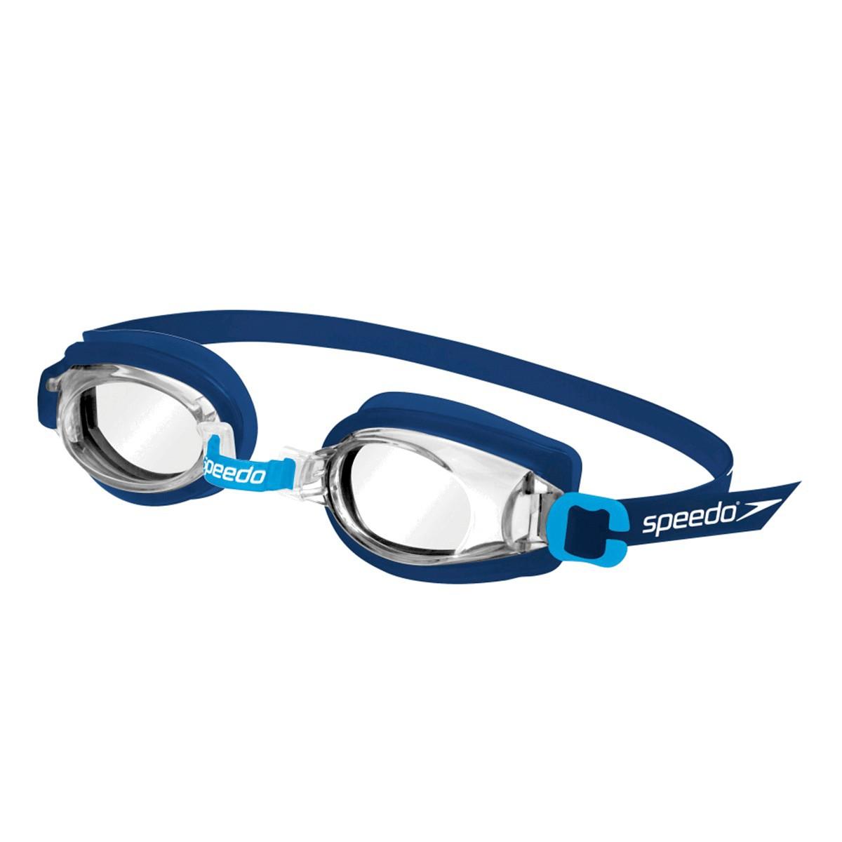 Óculos Mergulho Speedo Jr Captain Infantil Azul
