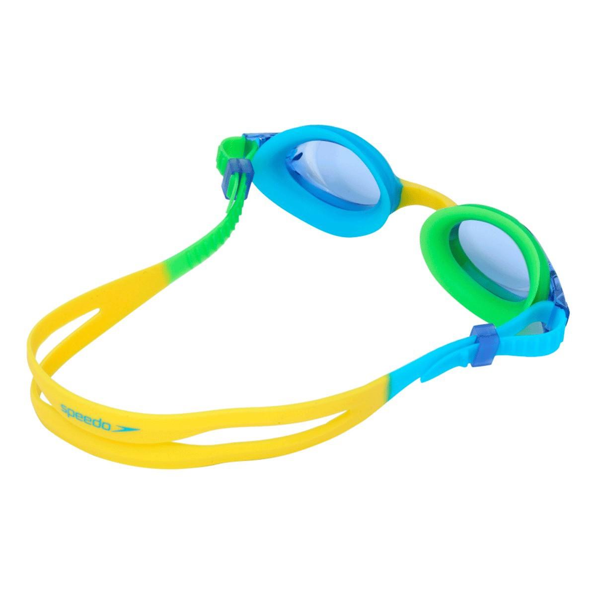 Óculos Mergulho Speedo Quick Jr II Infant Azul Verde