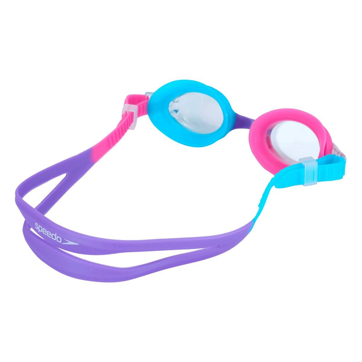 Óculos Mergulho Speedo Quick Jr II Infant Rosa Azul