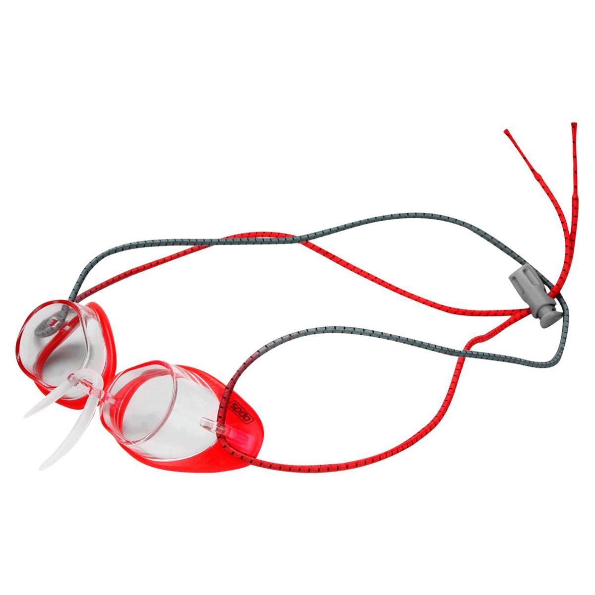 Óculos Mergulho Speedo Speed Competição Vermelho