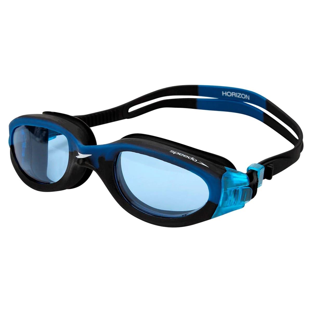 Óculos Natação Speedo Horizon Preto Azul