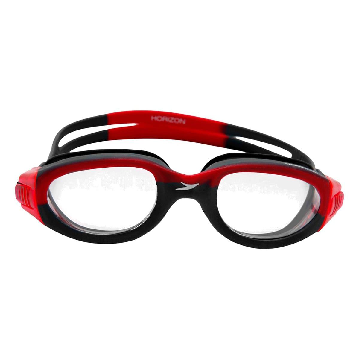 Óculos Natação Speedo Horizon Vermelho Preto