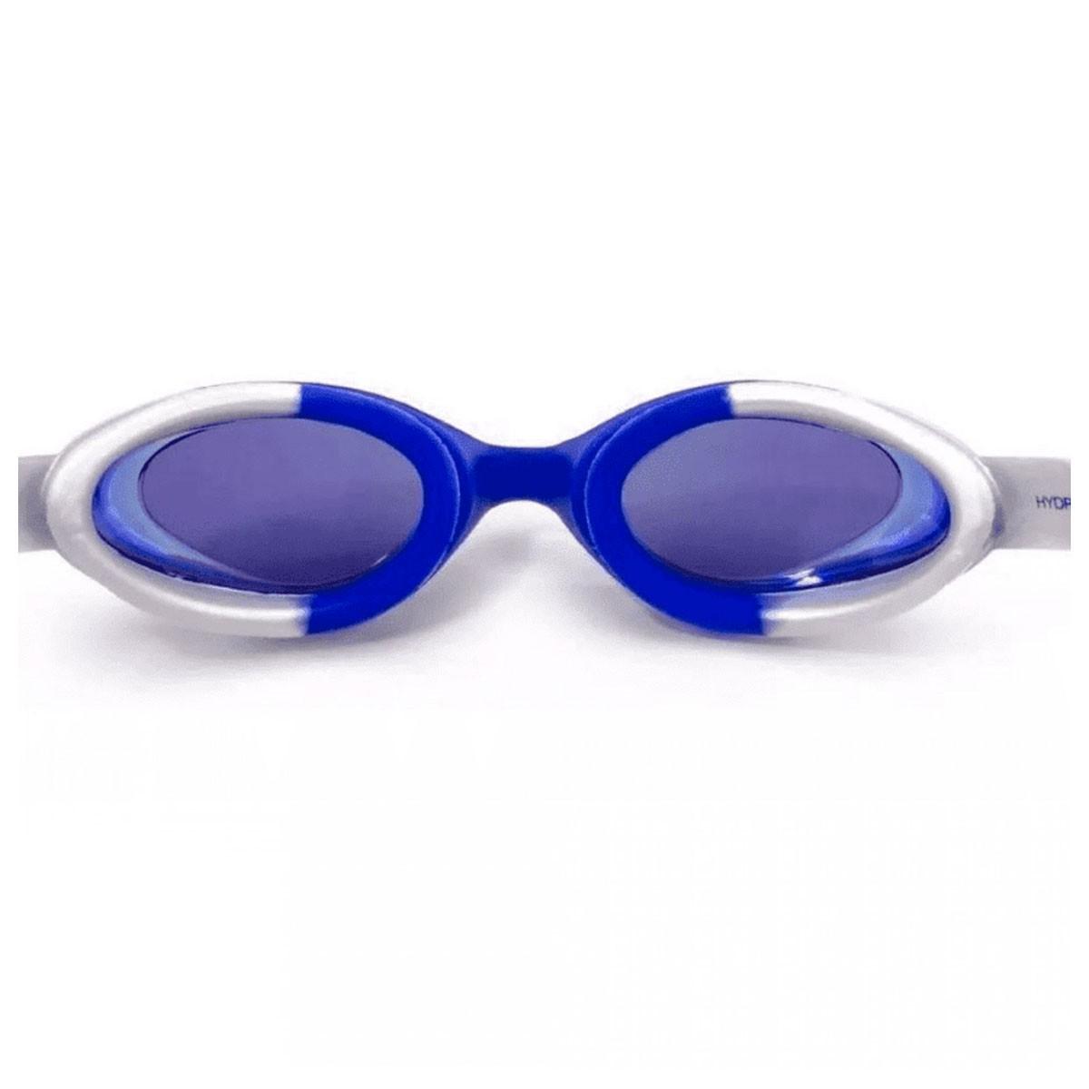 Óculos Natação Speedo Hydrovision Mirror Azul Cinza