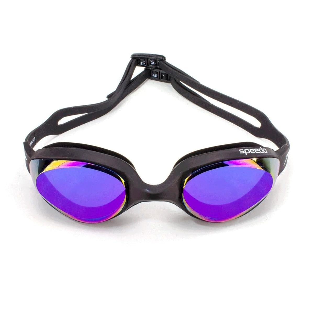 Óculos Natação Speedo Hydrovision Mirror Preto