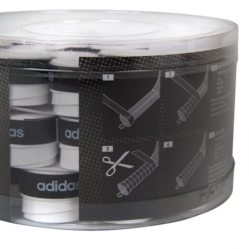 Overgrip Adidas Padel e Beach Tennis Pack 45 Unidades Branco