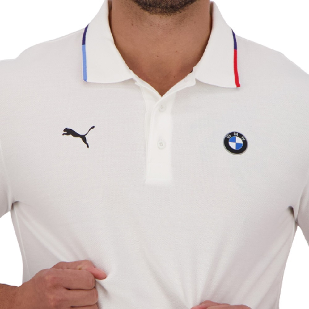 Polo Puma BMW MMS Forever Better Branco