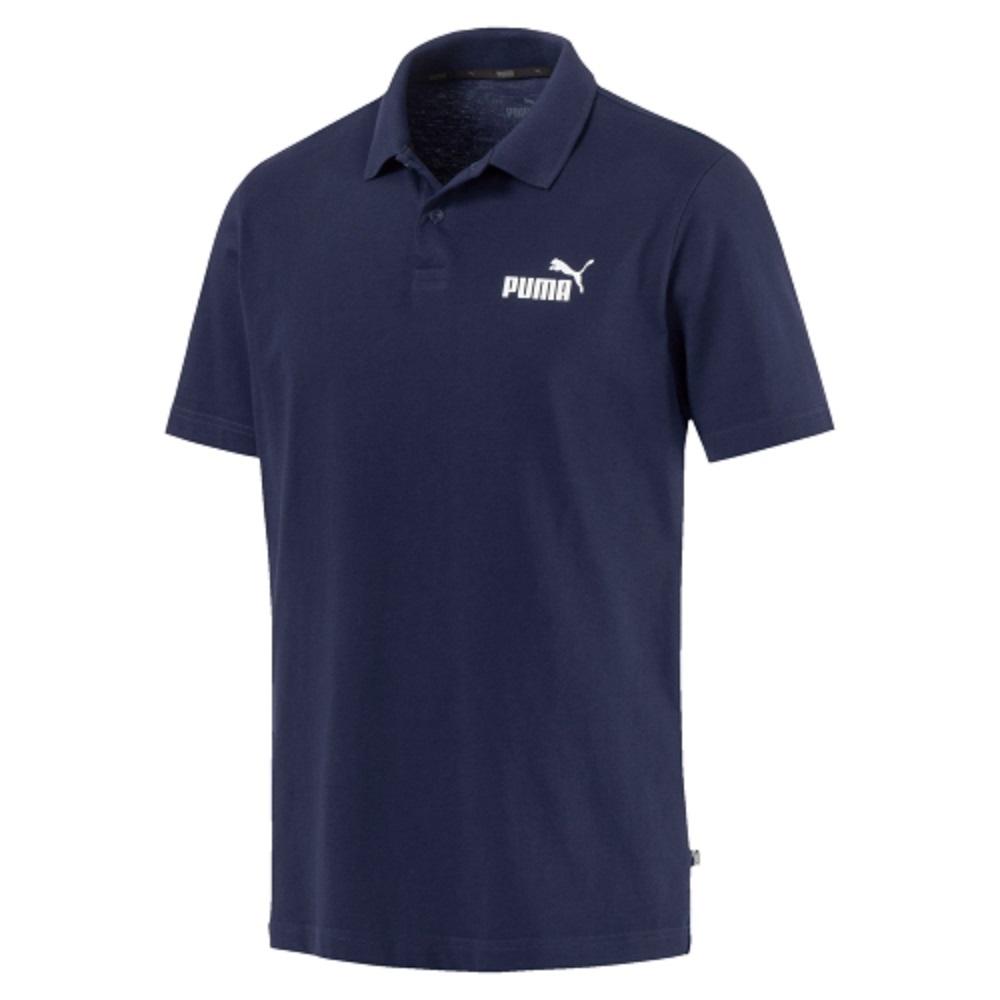 Polo Puma Essentials Masculino Marinho