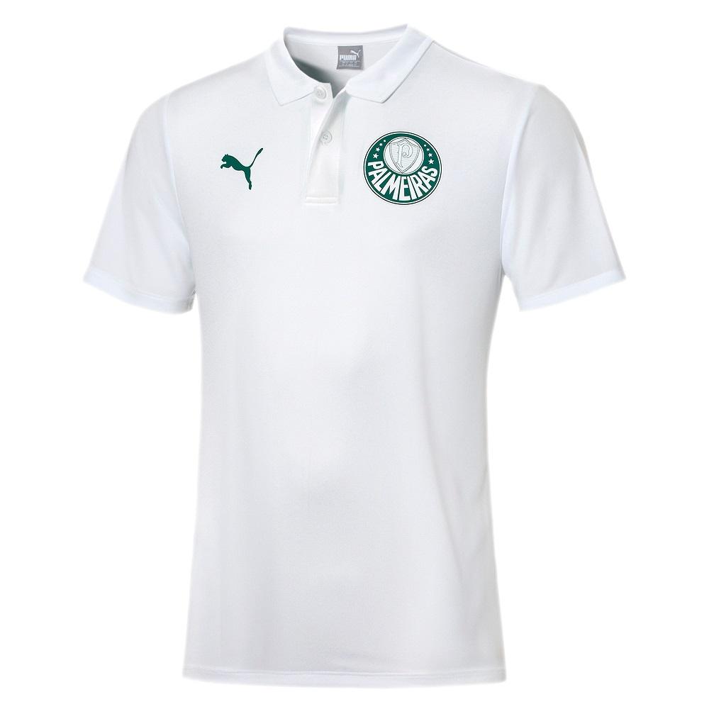 Polo Puma Palmeiras Goal Branco