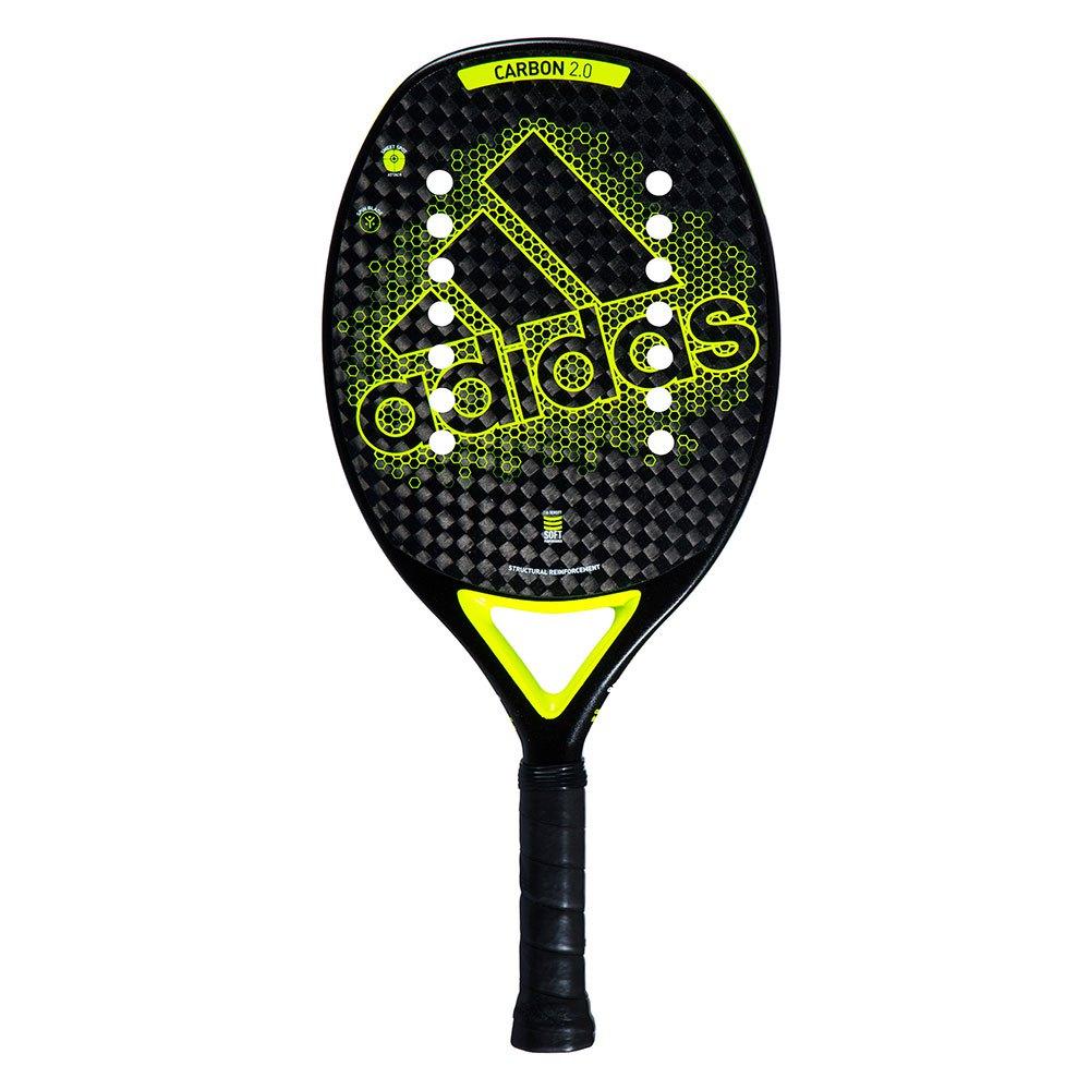 Raquete De Beach Tennis Adidas Carbon 2.0 Preto