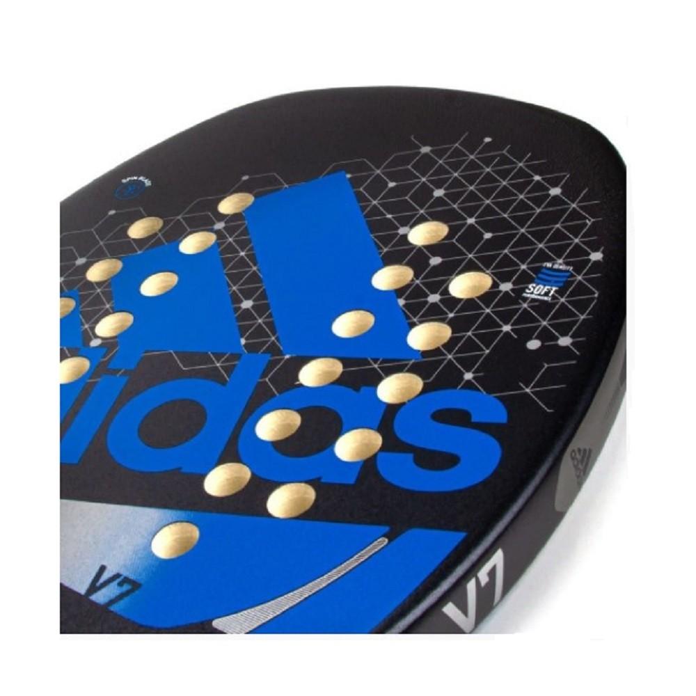 Raquete de Beach Tennis adidas V7 Preto Azul