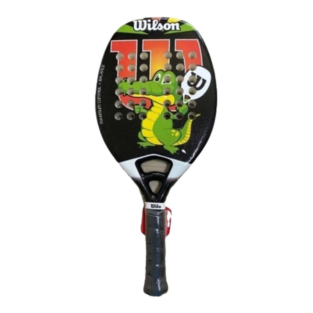 Raquete De Beach Tennis Junior Wilson  Mod. Jacaré
