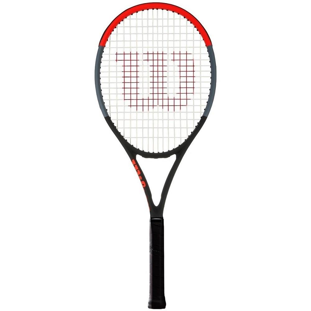 Raquete de Tênis Wilson Clash 98 Preto Laranja (Sem Rede)