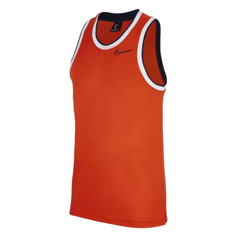 Regata Nike Classic Jersey Dri Fit Masculino Laranja