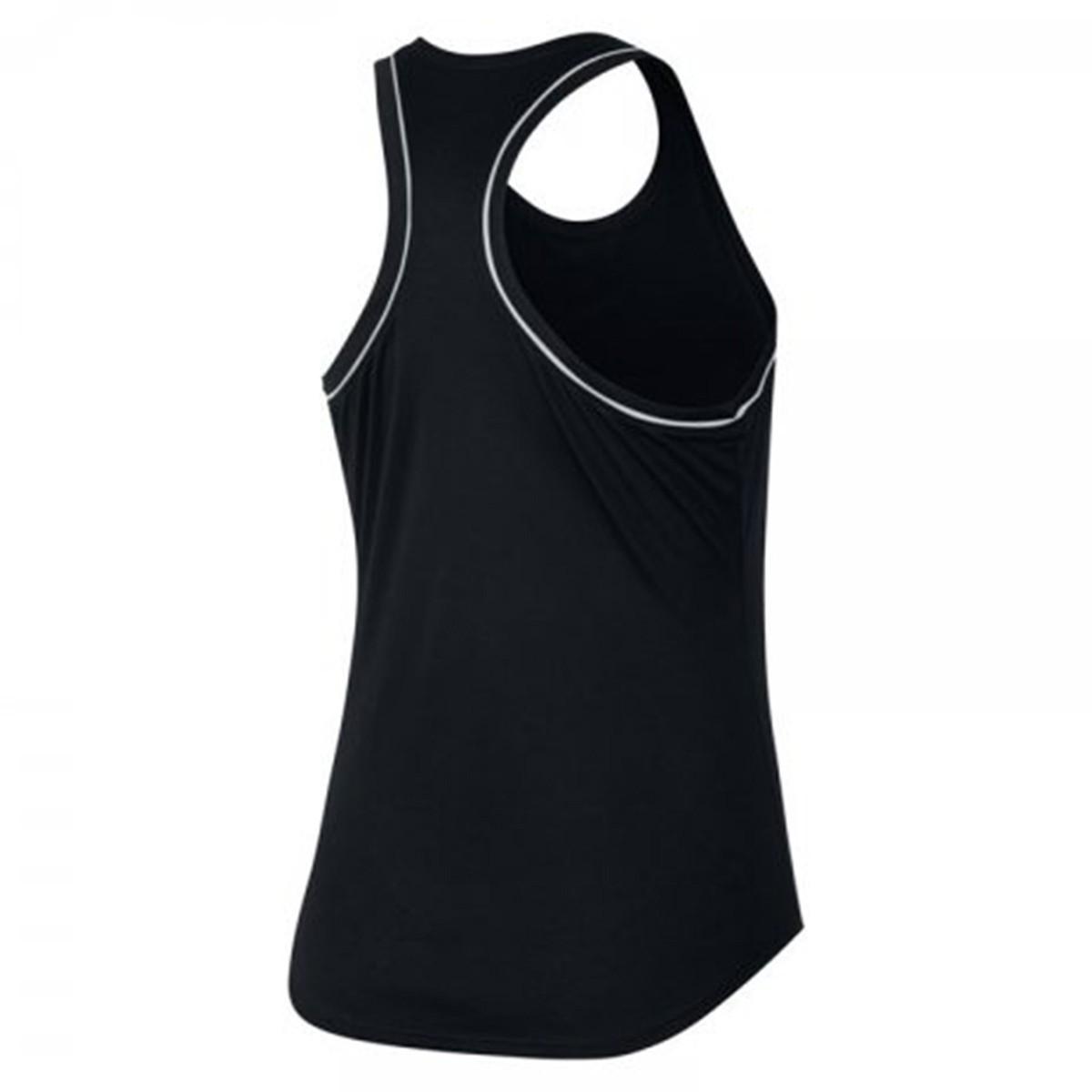 Regata Nike Court Dry - Preta - Feminina