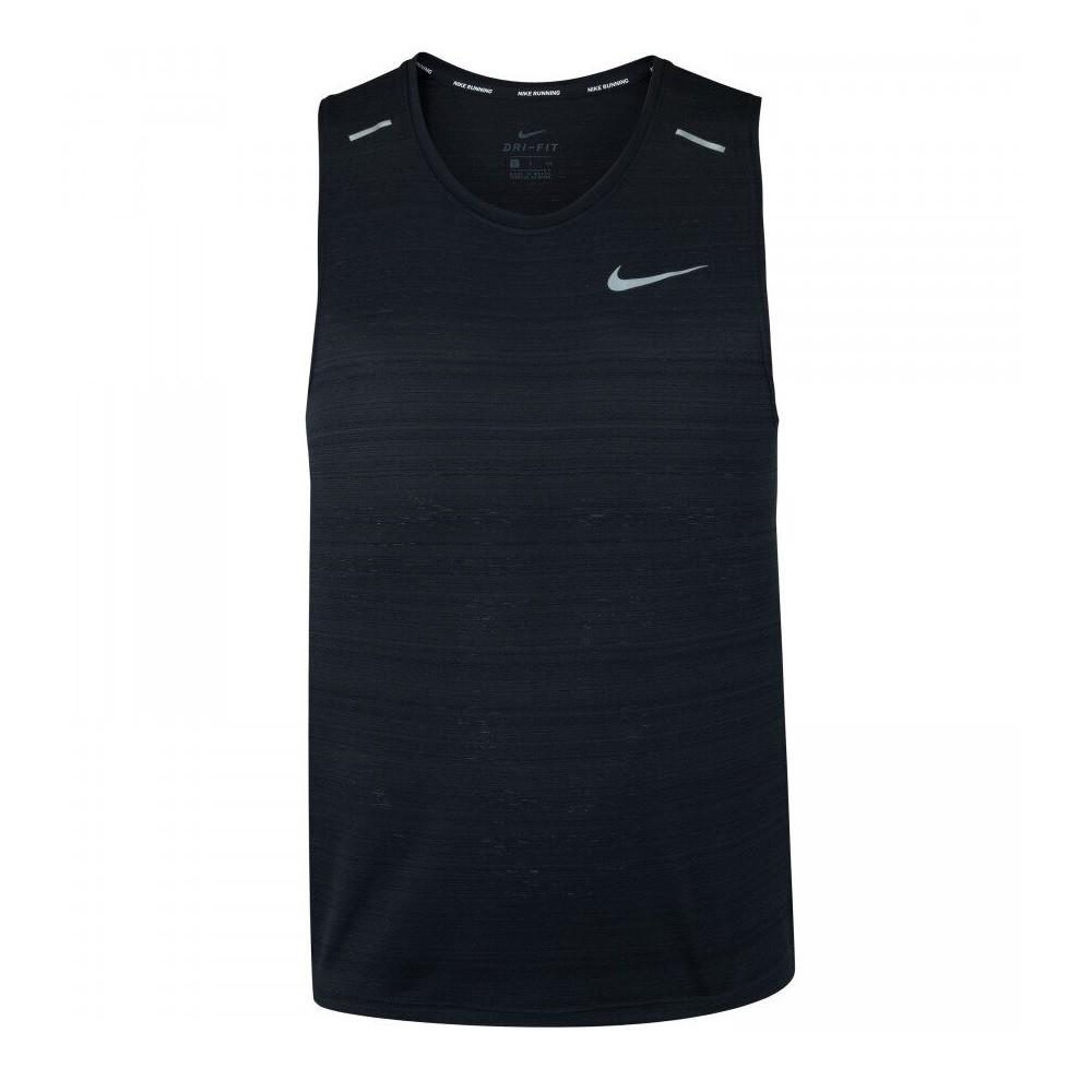 Regata Nike Dry Fit Miler Tank Masculino Preto