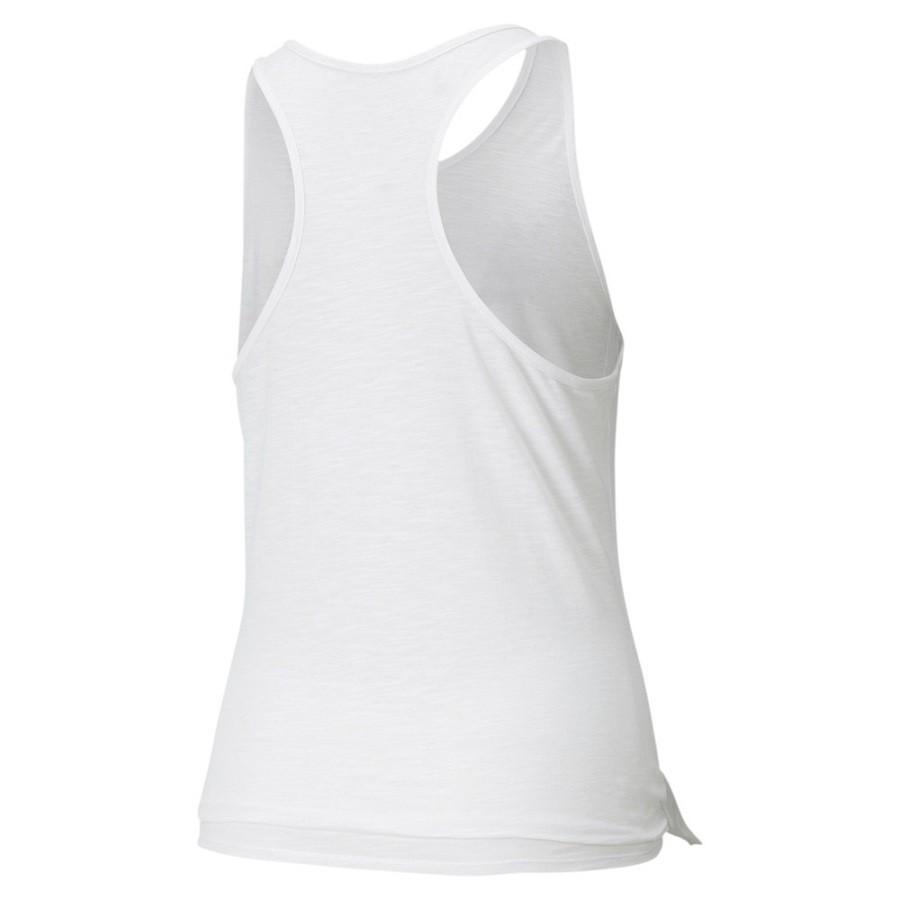 Regata Puma Logo Tie Feminina Branca
