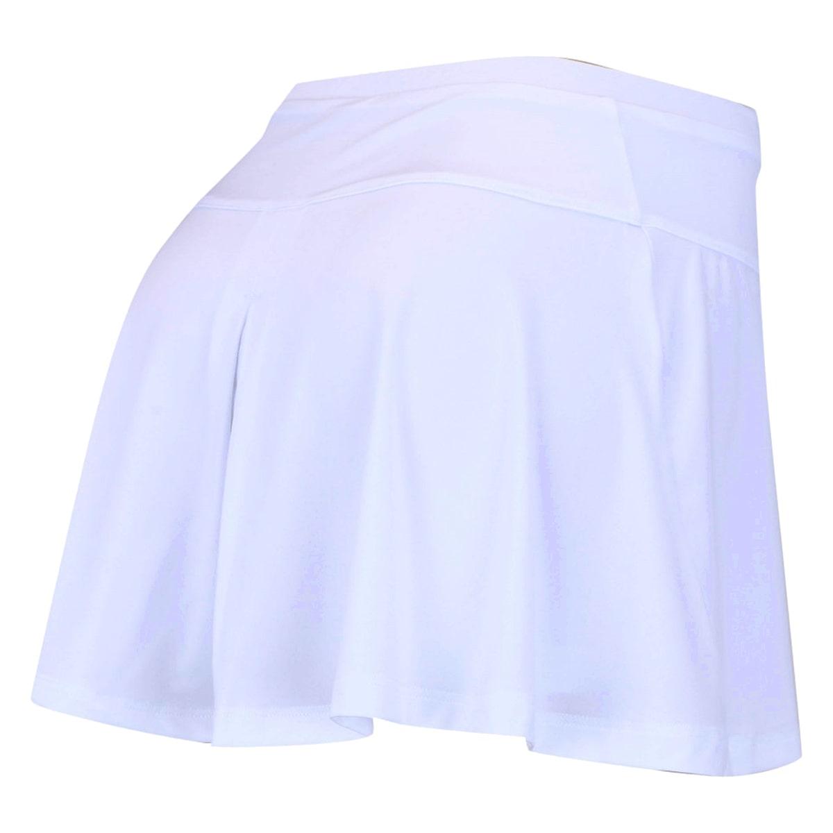 Short Saia Asics Tennis Slice Skort Feminino Branco