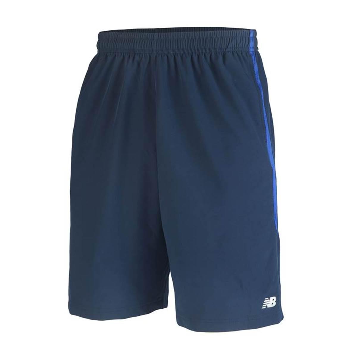 Shorts New Balance 10 Masculino Azul
