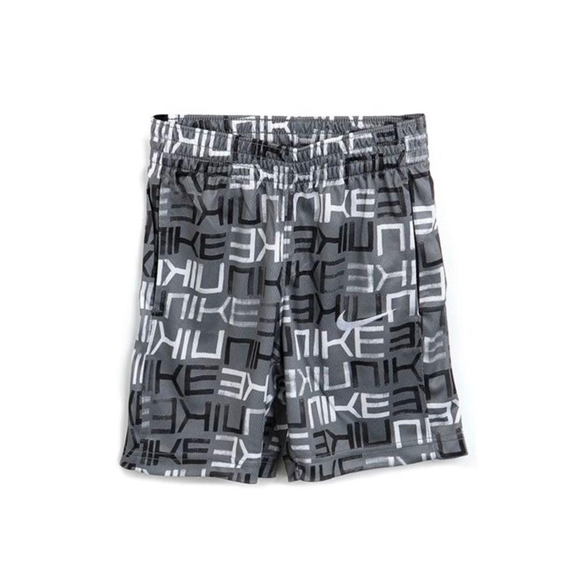 Shorts Nike Avalanche AOP Infantil Cinza