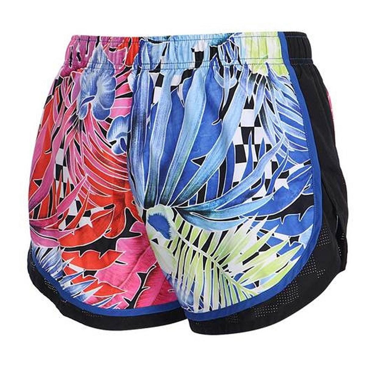 Shorts Nike Tempo Hyperflora Azul